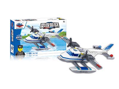 KAZI / GBL / BOZHI KY98304 Thunder Police: Seaplane 0
