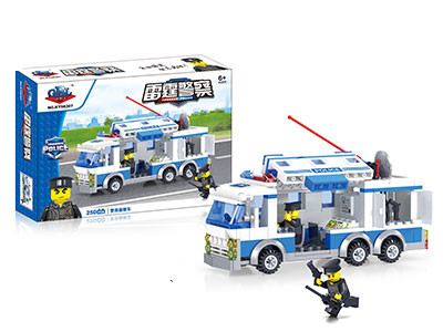 KAZI / GBL / BOZHI KY98307 ThunderBolt Police: Police Survey Vehicle 0