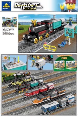 KAZI / GBL / BOZHI KY98232 City Train: Leap Forward (Small) 0