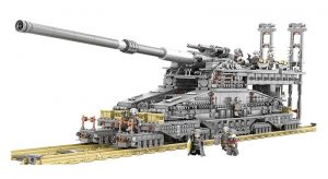 "KAZI / GBL / BOZHI KY10005 Germany 800mm ""Dora"" train gun 0"