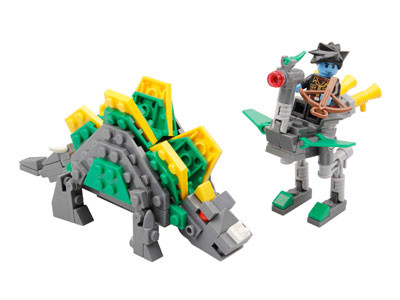 KAZI / GBL / BOZHI KY98002 Dinosaur Attack Team: Sword Dragon and Land Bird 0