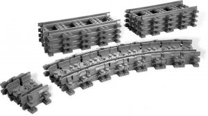 KAZI / GBL / BOZHI KY98215-2 Trains: Train tracks/straight tracks/universal tracks 0