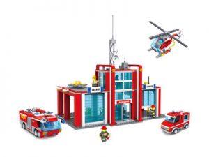 KAZI / GBL / BOZHI KY98214 Fire Police: Fire Boat 0