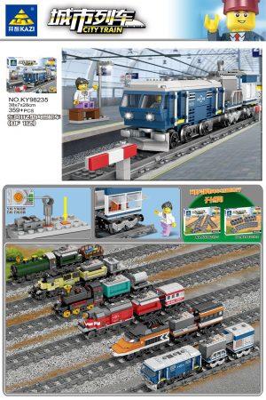 KAZI / GBL / BOZHI KY98235 City Train: Dongfeng 11Z internal combustion locomotive (DF 11Z) (small) 0
