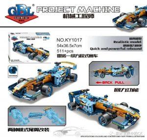 KAZI / GBL / BOZHI KY1017 Mechanical Engineer: Renault Formula One Racing Cars Return 0