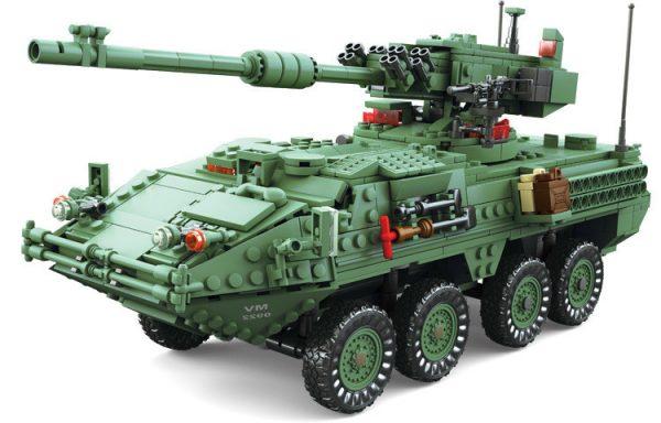 KAZI / GBL / BOZHI KY10001 Stricker Wheeled Mobile Artillery 1:21 0