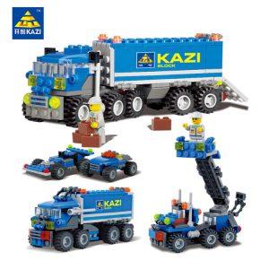 KAZI / GBL / BOZHI 6409 Driving smart trucks 0