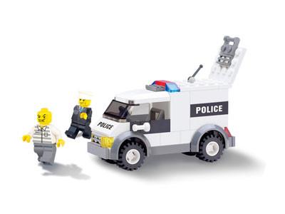 KAZI / GBL / BOZHI KY6732 Police petty prisoner's car 0