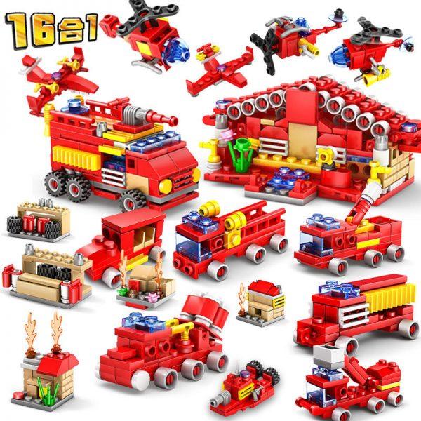 KAZI / GBL / BOZHI KY80511 City Fire: Fire Command 16 combinations 0