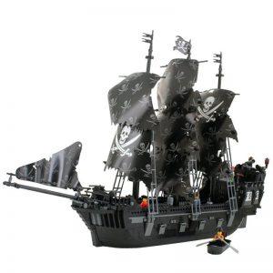 KAZI / GBL / BOZHI KY87010 Pirate Kingdom: The Black Pearl 0