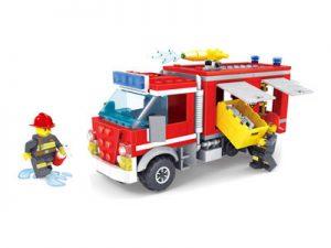 KAZI / GBL / BOZHI KY98211 Fire Police: Fire Trucks 0
