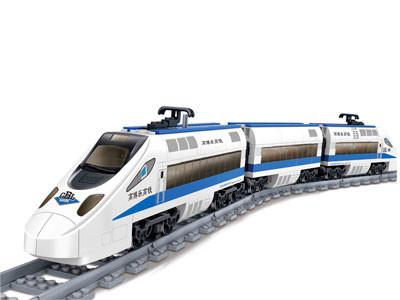 KAZI / GBL / BOZHI KY98104 Rail Train: Harmony High-Speed Rail 0