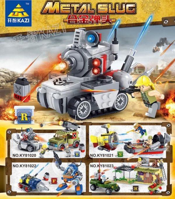 KAZI / GBL / BOZHI KY81020 Alloy Warhead: Carrier Small Scene 4 0