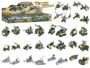 KAZI / GBL / BOZHI KY84053 Field Troops: Chariots 16 0