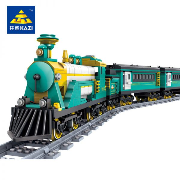 KAZI / GBL / BOZHI KY98225 Rail train: Australian Puffinbilly Steam Train 0