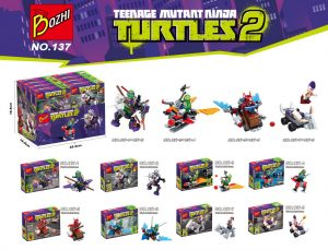 KAZI / GBL / BOZHI 137 Teenage Mutant Ninja Turtles 0