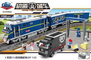 KAZI / GBL / BOZHI KY98220 Rail train: Dongfeng 11Z internal combustion locomotive 0
