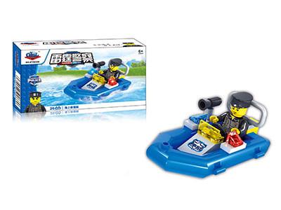 KAZI / GBL / BOZHI KY98306 Thunder Police: Sea Rescue Boat 0