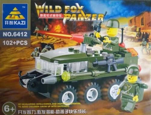 KAZI / GBL / BOZHI 6412 Wild Fox Wheeled Armored Vehicle 1