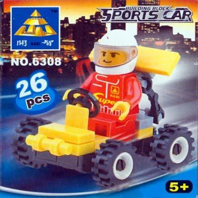 KAZI / GBL / BOZHI 6308 Little Racing Cars 0